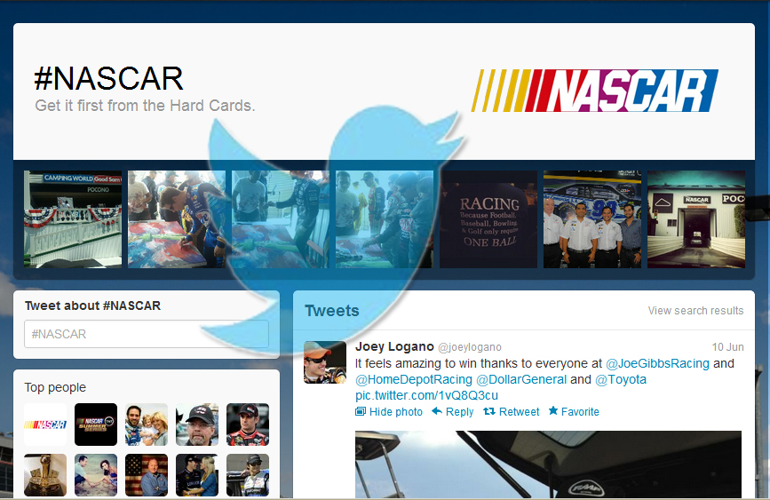Will The #NASCAR Tweet Experiment Work?