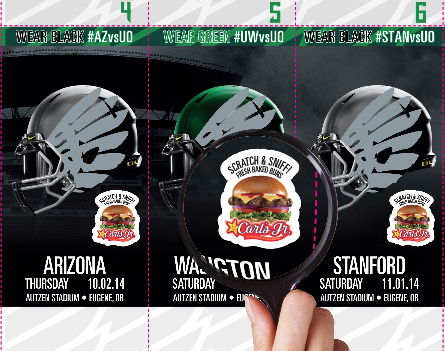 Oregon Gives Their Fans The Sweet Smell Of…Buns
