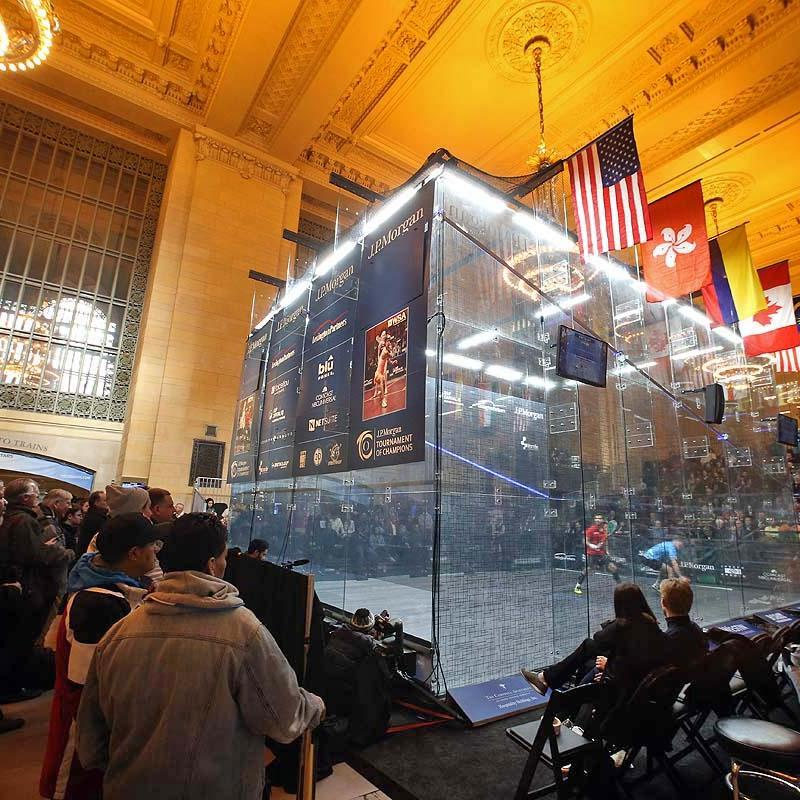 Squash Tries To Grow…As A Sports Property