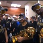 Warriors Celebration Branding: Expensive Bubbly, But Clean Goggles…